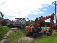 CSA fleet - excavator digging