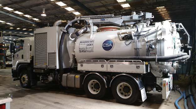 CSA Specialised Fleet - Hydro Excavation Truck