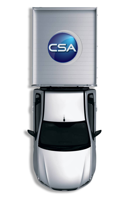 CSA Specialised Services Locating Ute